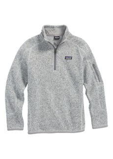 Patagonia Better Sweater Quarter Zip Pullover (Little Girls & Big Girls)