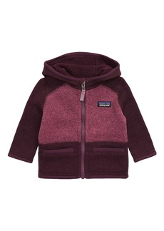 Patagonia Better Sweater® Recycled Fleece Hooded Jacket (Baby)