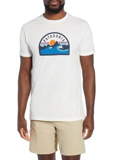 Patagonia Boardie Badge Organic Cotton T-Shirt