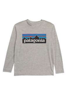 Patagonia Capilene® Cool Daily Long Sleeve T-Shirt (Little Boy & Big Boy)
