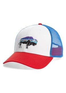 Patagonia 'Fitz Roy Bison' Trucker Hat