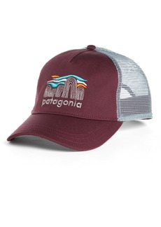 Patagonia Fitz Roy Boulders Layback Trucker Hat