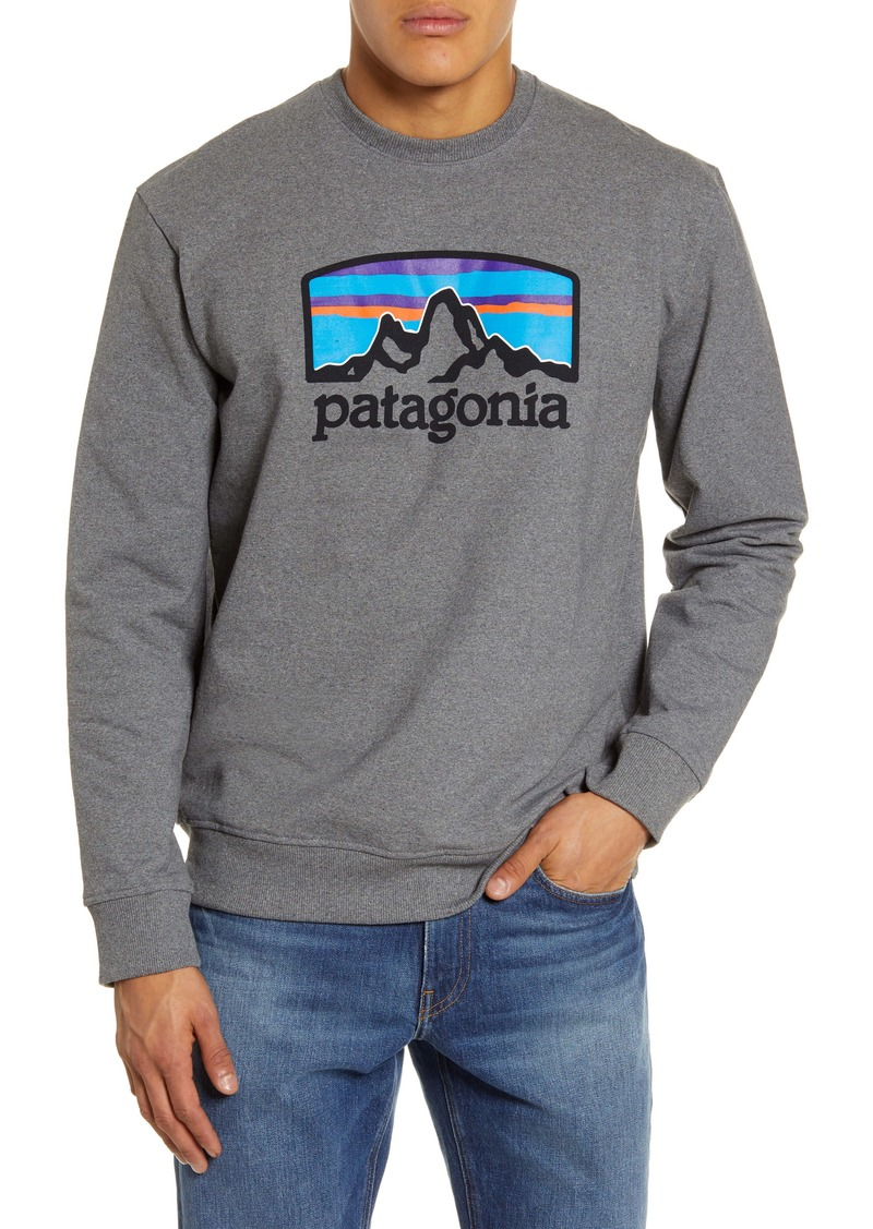 Patagonia Fitz Roy Horizons Uprisal Recycled Blend Fleece Sweatshirt