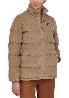 Patagonia Fjord Corduroy Down Puffer Jacket