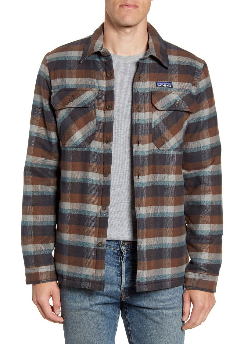 Patagonia 'Fjord' Flannel Shirt Jacket