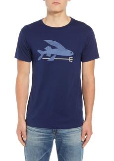 Patagonia Flying Fish Regular Fit Organic Cotton T-Shirt