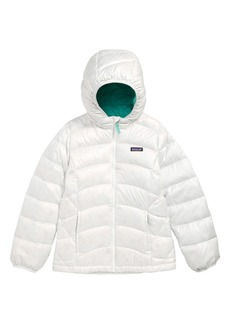 Patagonia Hi-Loft Down Sweater Hooded Jacket (Little Girls & Big Girls)