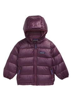 Patagonia Hi-Loft Water Repellent 600 Fill Power Down Recycled Sweater Hoodie (Baby)