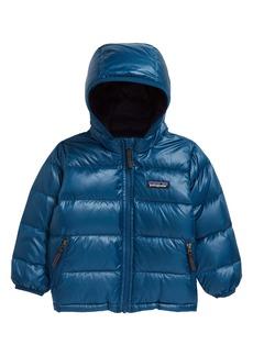 Patagonia Hi-Loft Water Repellent 600 Fill Power Down Sweater Hoodie (Baby)