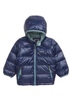 Patagonia Hi-Loft Water-Repellent 600-Fill Power Down Sweater Hoodie (Baby Boys)