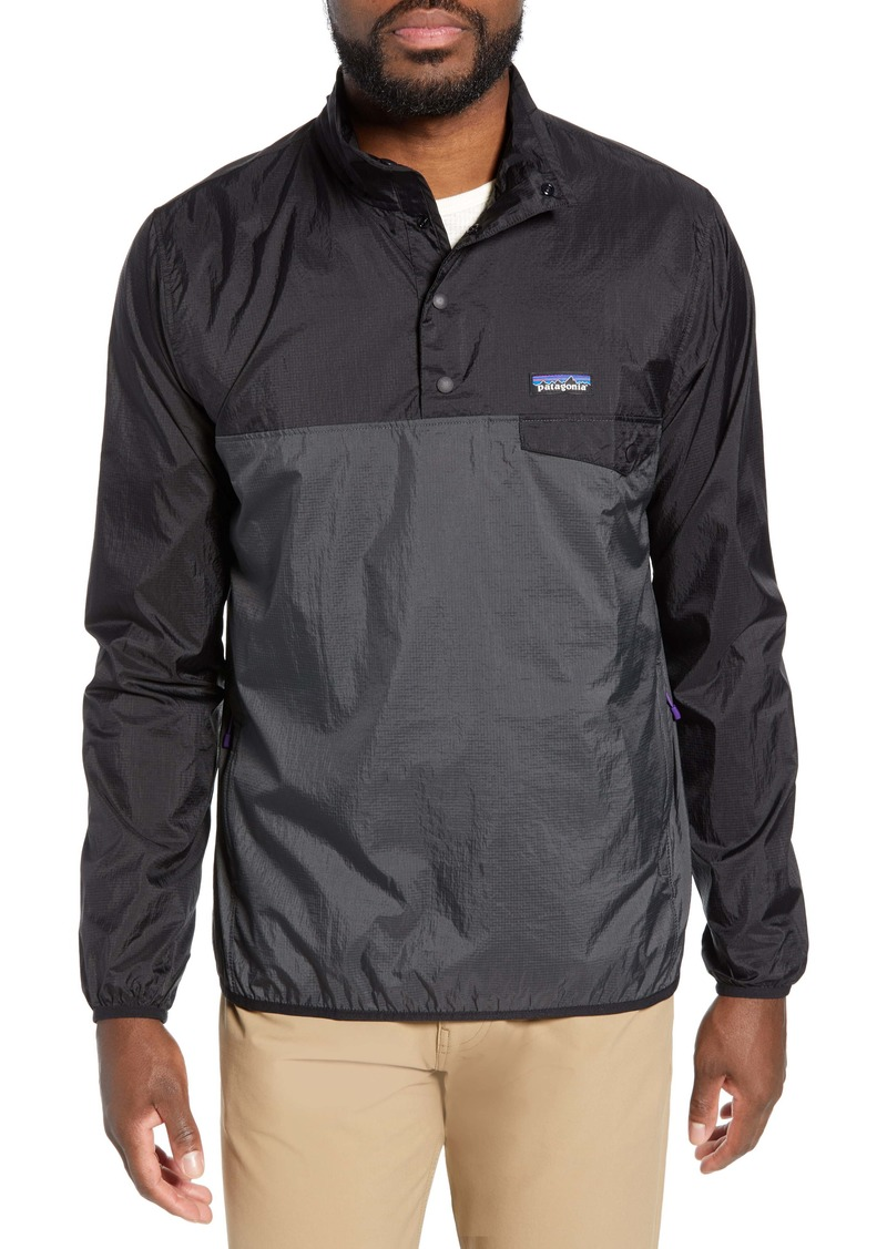 Patagonia Houdini Regular Fit Quarter Snap Pullover