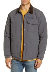 Patagonia Isthmus Wind Resistant Water Repellent Quilted Shirt Jacket