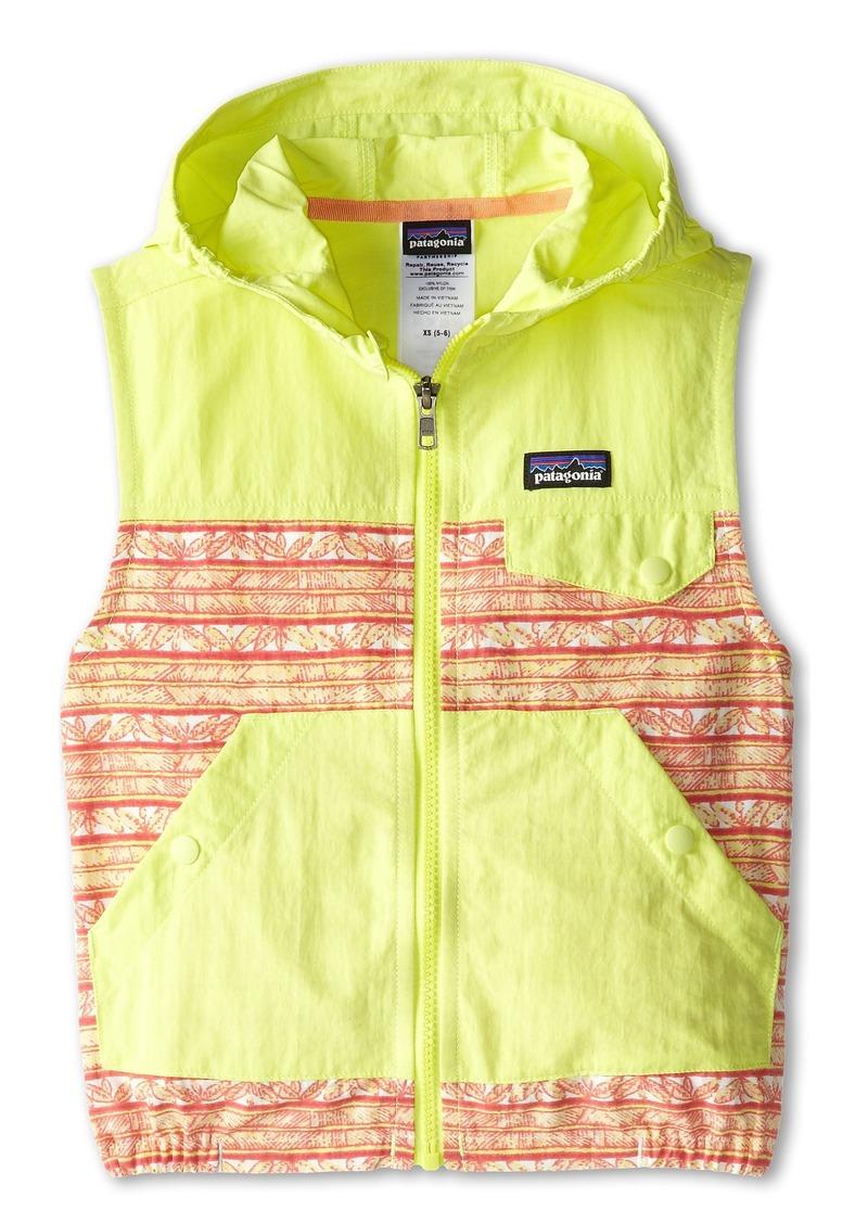 Patagonia Kids Baggies Hooded Vest (Little Kids/Big Kids)