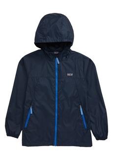 Patagonia Light & Variable™ Wind & Water Resistant Hooded Jacket (Little Boy & Big Boy)