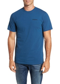 Patagonia Line Regular Fit Logo T-Shirt