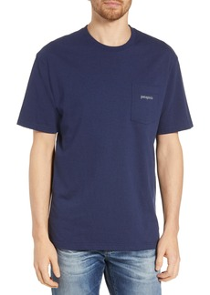 Patagonia Line Ridge Logo Responsibili-Tee Regular Fit T-Shirt