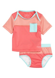 Patagonia 'Little Sol' Two-Piece Rashguard Swimsuit (Baby Girls)