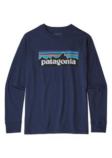 Patagonia Long Sleeve Graphic T-Shirt (Little Boys & Big Boys)