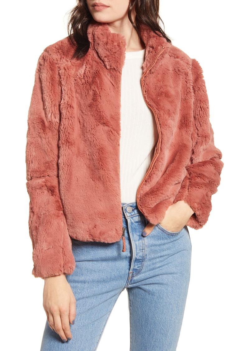Patagonia Lunar Frost Faux Fur Jacket