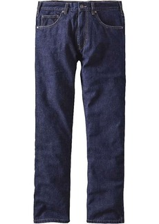 Patagonia Men's Flannel Lined Straight Fit Jeans
