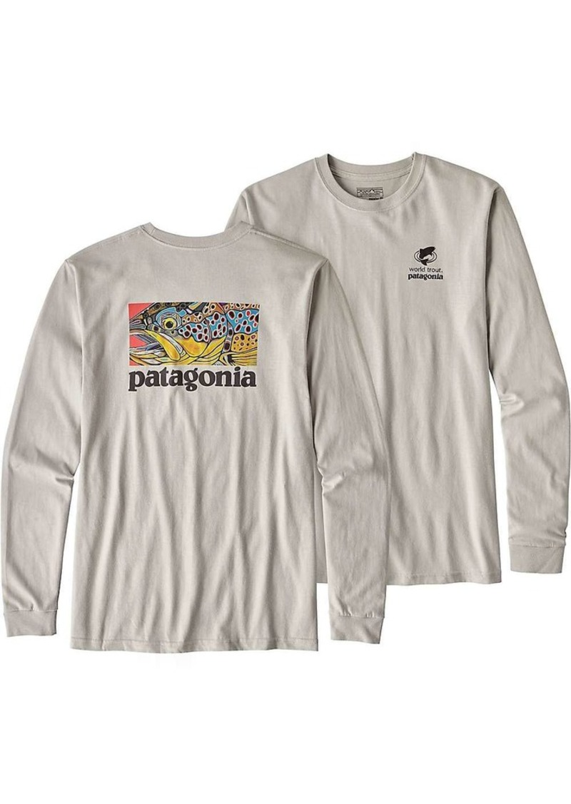 57de56423344 Patagonia Capilene Daily Long Sleeve T Shirt Mens | Toffee Art