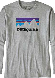 Patagonia Men's L/S Shop Sticker Responsibili-Tee
