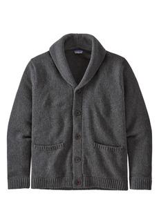Patagonia Men's Recycled Wool Blend Shawl Collar Cardigan