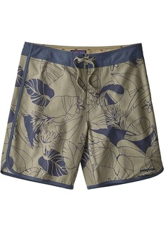 Patagonia Men's Scallop Hem Stretch Wavefarer 18 Inch Boardshort