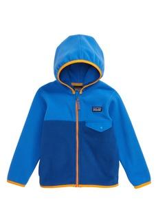 Patagonia Micro D® Snap-T® Fleece Jacket (Toddler Boys & Little Boys)