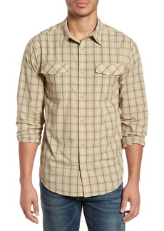 Patagonia M's High Moss Plaid Sport Shirt