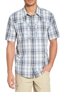 Patagonia M's Sun Plaid Stretch Hybrid Shirt