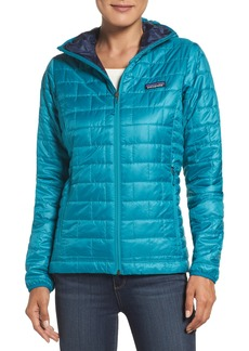 Patagonia Nano Puff® Hooded Water Resistant Jacket