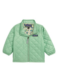 Patagonia Nano Puff® Quilted Water Resistant Jacket (Baby)