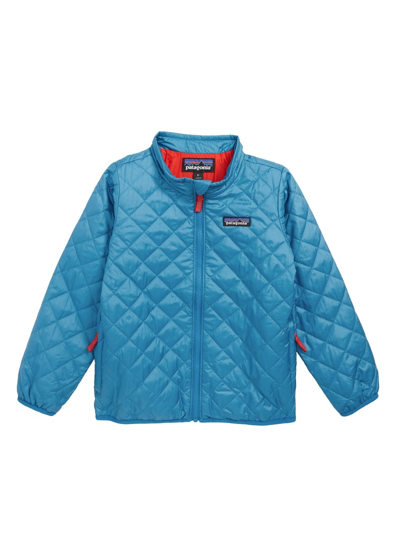 56db65383419 Patagonia Nano Puff® Quilted Water Resistant Jacket (Toddler Boys)