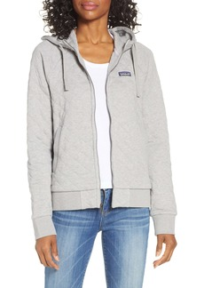 Patagonia Organic Cotton Blend Quilted Hoodie