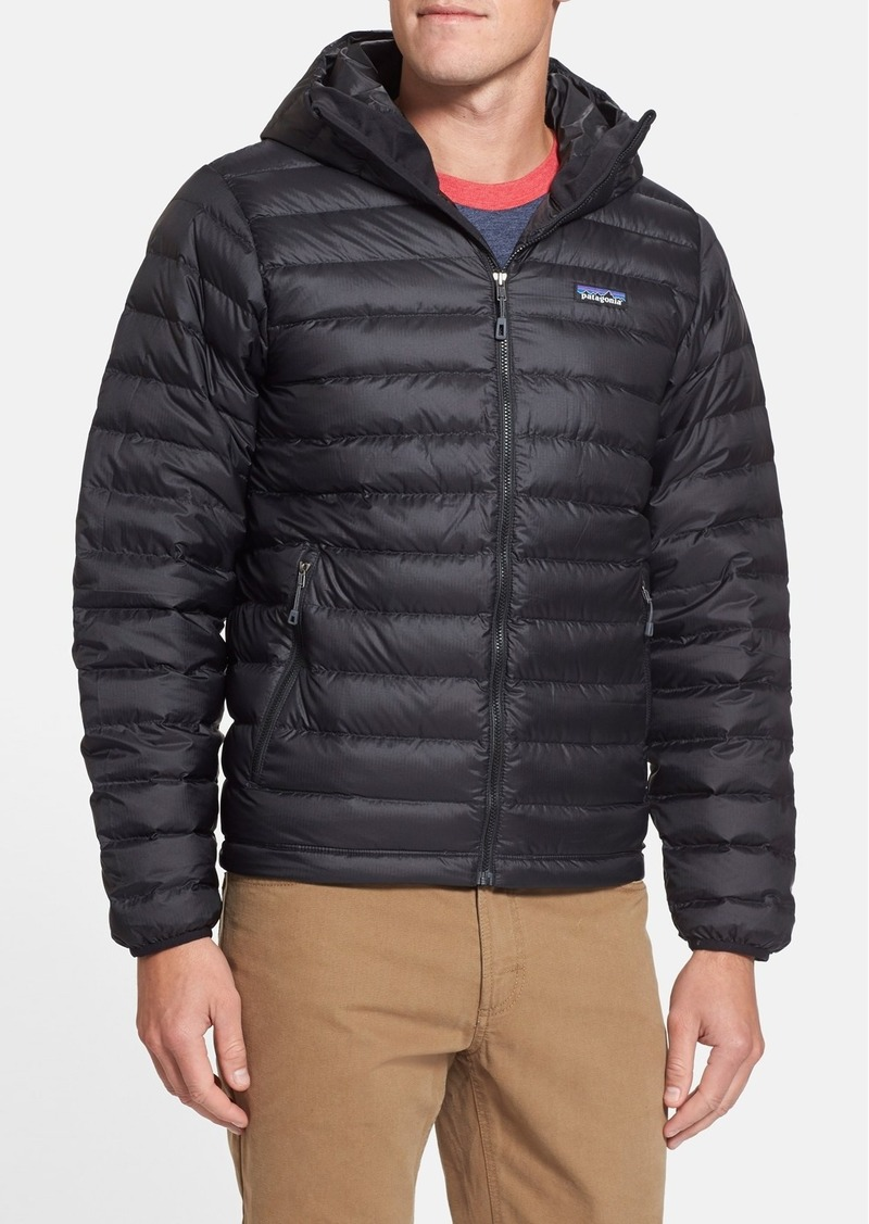 Patagonia Packable Windproof & Water Repellent Down Hooded Jacket