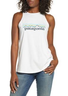 Patagonia Pastel P-6 Logo Organic Cotton Tank Top