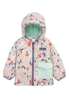 Patagonia Puff Ball Water Resistant Thermogreen™ Insulated Reversible Jacket (Baby Girls)