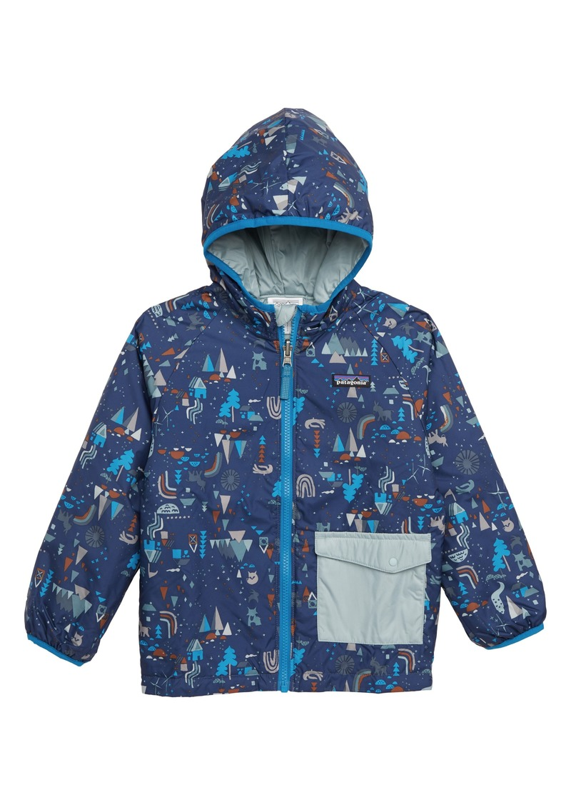 48cfafa6d68f Patagonia Puff Ball Water Resistant Thermolite® Insulated Reversible Jacket  (Toddler Boys)