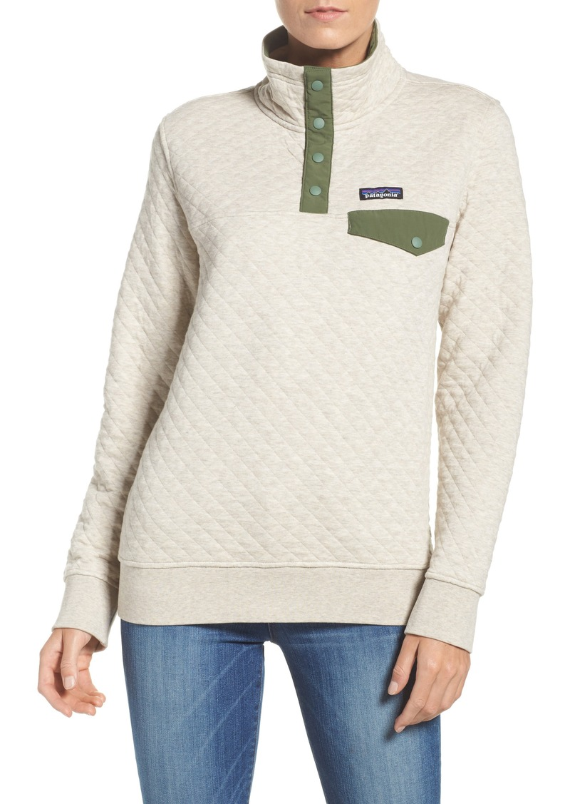 Patagonia Patagonia Snap T 174 Quilted Pullover Outerwear