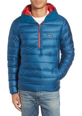 Patagonia Quilted Down Pullover Hoodie