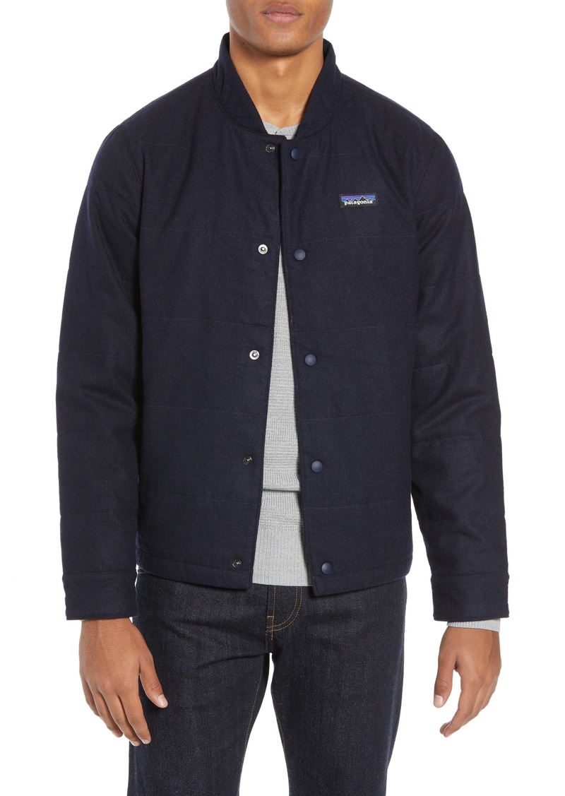 de89277c3 Recycled Woolyester Bomber Jacket