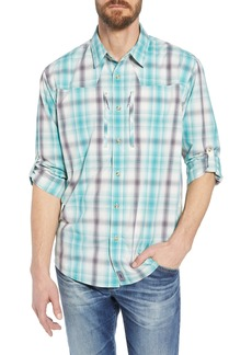 Patagonia Regular Fit Plaid Sport Shirt