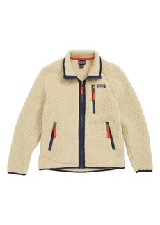 Patagonia Retro Pile Faux Shearling Jacket (Little Boys & Big Boys)
