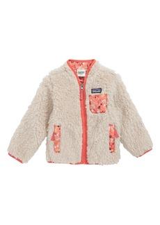 Patagonia 'Retro-X' Jacket (Baby Girls)