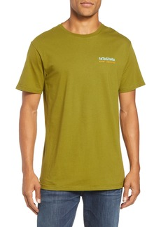Patagonia River Liberation Organic Cotton Graphic T-Shirt