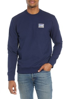 Patagonia Shop Sticker Patch Uprisal Crew Sweatshirt