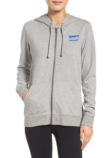 Patagonia Shop Sticker Zip Hoodie
