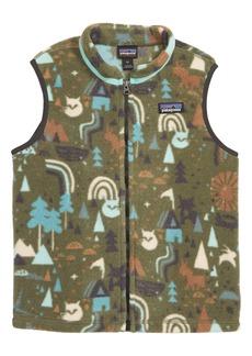 Patagonia Synchilla® Fleece Zip Vest (Toddler Boys)