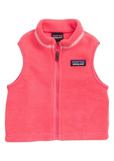Patagonia Synchilla® Recycled Fleece Vest (Baby)